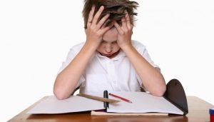 трудности в учёбе у ребёнка